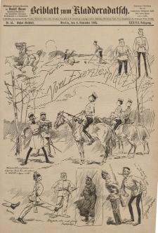 Kladderadatsch, 38. Jahrgang, 8. November 1885, Nr. 51 (Beiblatt)