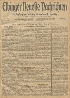 Elbinger Neueste Nachrichten, Nr. 304 Mittwoch 5 November 1913 65. Jahrgang