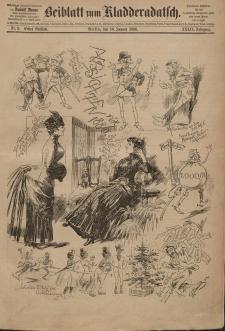 Kladderadatsch, 39. Jahrgang, 10. Januar 1886, Nr. 2 (Beiblatt)