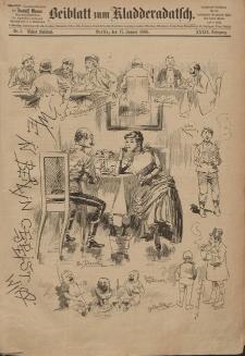 Kladderadatsch, 39. Jahrgang, 17. Januar 1886, Nr. 3 (Beiblatt)