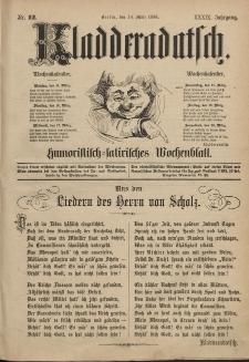 Kladderadatsch, 39. Jahrgang, 14. März 1886, Nr. 12