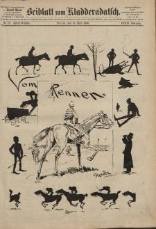 Kladderadatsch, 39. Jahrgang, 18. April 1886, Nr. 18 (Beiblatt)