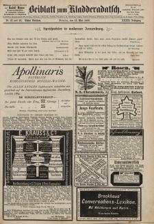 Kladderadatsch, 39. Jahrgang, 16. Mai 1886, Nr. 22/23 (Beiblatt)