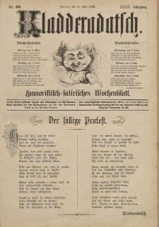 Kladderadatsch, 39. Jahrgang, 30. Mai 1886, Nr. 25