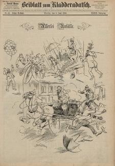 Kladderadatsch, 39. Jahrgang, 6. Juni 1886, Nr. 26 (Beiblatt)