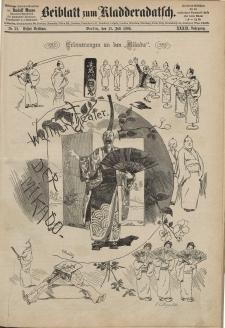 Kladderadatsch, 39. Jahrgang, 11. Juli 1886, Nr. 32 (Beiblatt)