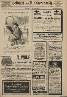Kladderadatsch, 39. Jahrgang, 15. August 1886, Nr. 37/38 (Beiblatt)