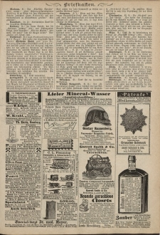Kladderadatsch, 39. Jahrgang, 29. August 1886, Nr. 40 (Beiblatt)