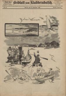 Kladderadatsch, 39. Jahrgang, 12. September 1886, Nr. 42 (Beiblatt)