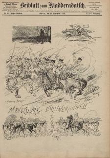 Kladderadatsch, 39. Jahrgang, 19. September 1886, Nr. 43 (Beiblatt)