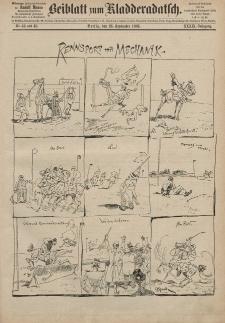 Kladderadatsch, 39. Jahrgang, 26. September 1886, Nr. 44/45 (Beiblatt)