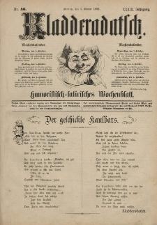 Kladderadatsch, 39. Jahrgang, 3. Oktober 1886, Nr. 46