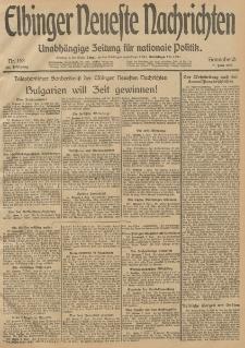 Elbinger Neueste Nachrichten, Nr. 153 Sonnabend 7 Juni 1913 65. Jahrgang