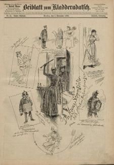 Kladderadatsch, 39. Jahrgang, 7. November 1886, Nr. 51(Beiblatt)