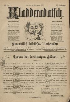 Kladderadatsch, 40. Jahrgang, 23. Januar 1887, Nr. 4