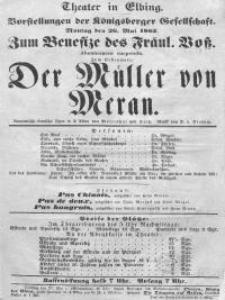 Der Müller von Meran - Hermann Mosenthal, Friedrich Tietz