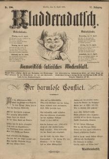 Kladderadatsch, 40. Jahrgang, 17. April 1887, Nr. 18