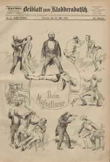 Kladderadatsch, 40. Jahrgang, 22. Mai 1887, Nr. 24 (Beiblatt)