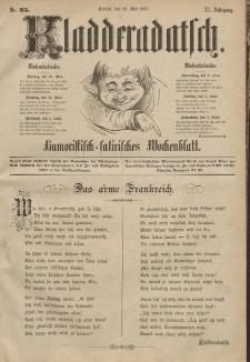 Kladderadatsch, 40. Jahrgang, 29. Mai 1887, Nr. 25