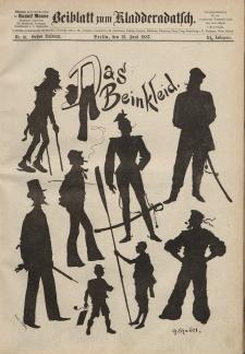 Kladderadatsch, 40. Jahrgang, 12. Juni 1887, Nr. 27 (Beiblatt)