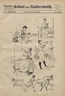 Kladderadatsch, 40. Jahrgang, 19. Juni 1887, Nr. 28 (Beiblatt)