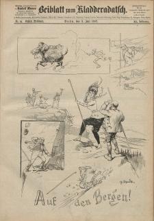 Kladderadatsch, 40. Jahrgang, 3. Juli 1887, Nr. 31 (Beiblatt)