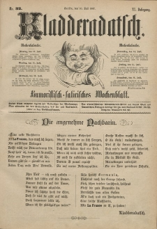 Kladderadatsch, 40. Jahrgang, 10. Juli 1887, Nr. 32