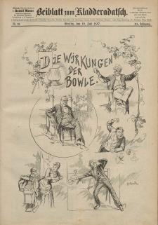 Kladderadatsch, 40. Jahrgang, 10. Juli 1887, Nr. 32 (Beiblatt)