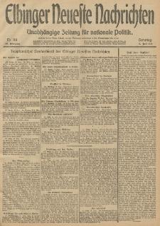 Elbinger Neueste Nachrichten, Nr. 161 Sonntag 15 Juni 1913 65. Jahrgang