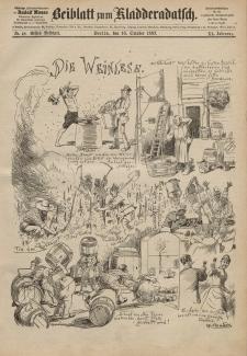 Kladderadatsch, 40. Jahrgang, 16. Oktober 1887, Nr. 48 (Beiblatt)