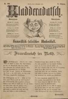 Kladderadatsch, 40. Jahrgang, 4. Dezember 1887, Nr. 56