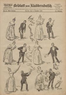 Kladderadatsch, 40. Jahrgang, 4. Dezember 1887, Nr. 56 (Beiblatt)