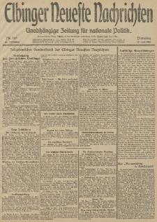 Elbinger Neueste Nachrichten, Nr. 163 Dienstag 17 Juni 1913 65. Jahrgang