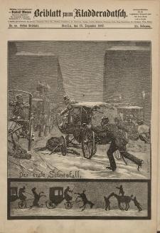 Kladderadatsch, 40. Jahrgang, 18. Dezember 1887, Nr. 58 (Beiblatt)