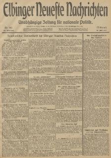 Elbinger Neueste Nachrichten, Nr. 164 Mittwoch 18 Juni 1913 65. Jahrgang