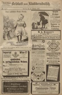 Kladderadatsch, 41. Jahrgang, 12. Februar 1888, Nr. 7/8 (Beiblatt)