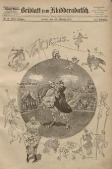 Kladderadatsch, 41. Jahrgang, 26. Februar 1888, Nr. 10 (Beiblatt)