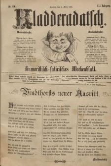 Kladderadatsch, 41. Jahrgang, 4. März 1888, Nr. 11