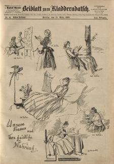 Kladderadatsch, 41. Jahrgang, 18. März 1888, Nr. 13 (Beiblatt)