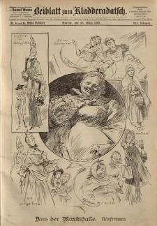 Kladderadatsch, 41. Jahrgang, 25. März 1888, Nr. 14/15 (Beiblatt)