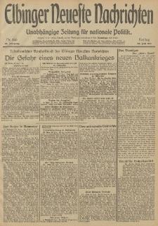 Elbinger Neueste Nachrichten, Nr. 166 Freitag 20 Juni 1913 65. Jahrgang