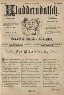 Kladderadatsch, 41. Jahrgang, 15. April 1888, Nr. 18
