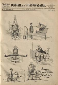 Kladderadatsch, 41. Jahrgang, 15. April 1888, Nr. 18 (Beiblatt)
