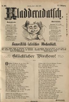 Kladderadatsch, 41. Jahrgang, 6. Mai 1888, Nr. 21
