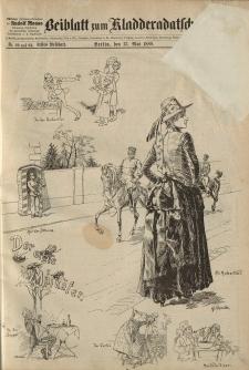 Kladderadatsch, 41. Jahrgang, 13. Mai 1888, Nr. 22/23 (Beiblatt)