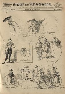 Kladderadatsch, 41. Jahrgang, 27. Mai 1888, Nr. 25 (Beiblatt)
