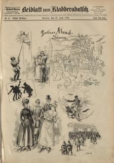 Kladderadatsch, 41. Jahrgang, 10. Juni 1888, Nr. 27 (Beiblatt)