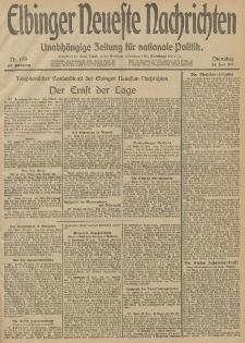 Elbinger Neueste Nachrichten, Nr. 170 Dienstag 24 Juni 1913 65. Jahrgang