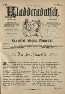 Kladderadatsch, 41. Jahrgang, 5. August 1888, Nr. 36