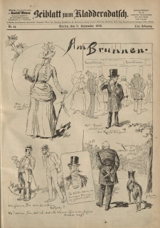 Kladderadatsch, 41. Jahrgang, 9. September 1888, Nr. 41 (Beiblatt)